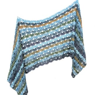 shawl sjaal haken haakpatroon happy crochet patterns