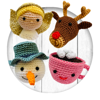 crochet-pattern-christmas-ornaments-deer-chocolatemilk-angel-snowman-haakpatroon-kerstballen-sneeuwpop-chocolademelk-kerstengel-rendier-amigurumi-haken-scheepjes